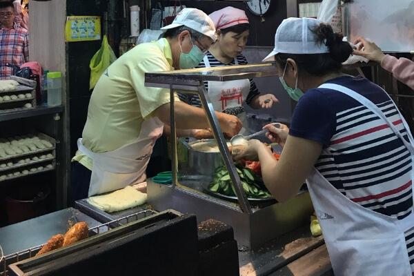 台湾のサンドイッチ