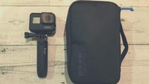 GoPro「コンパクトケース」は普段の日常使いに最適【バッグインバッグ】