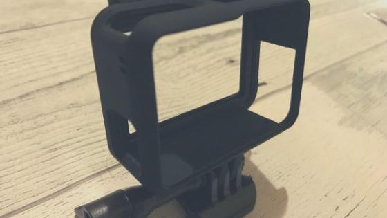 【GoPro】ディヤードのネイキッドタイプのフレームケースが安くて使い勝手がいい件
