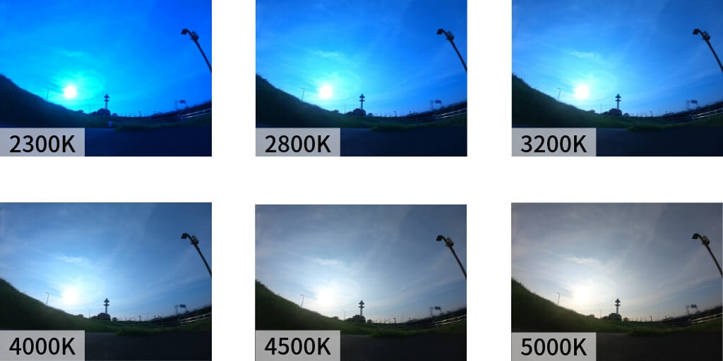 GoProのホワイトバランス(その1)