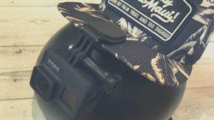 POV撮影の必需品「ヘッドストラップ&クリップ」【頭に帽子に直接OK】
