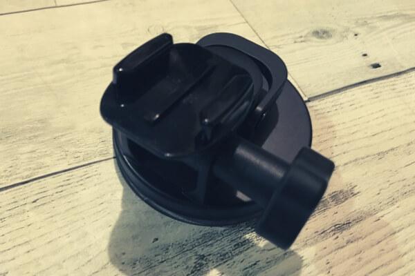 サクションカップ のクイックリリースベース