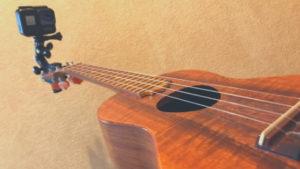 楽器の演奏を撮影するのに便利!Dovewillの「クリップ型楽器マウント」