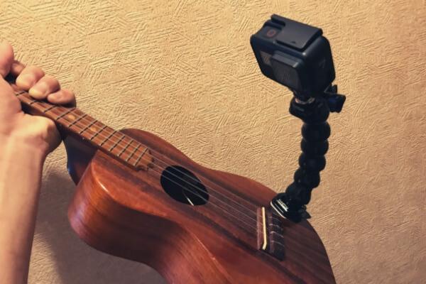 楽器マウントにジョーズのネックを使う
