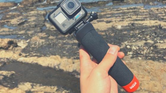 「The Handler(ザ・ハンドラー)」GoPro水中撮影での必需品!【フローティングハンドグリップ】