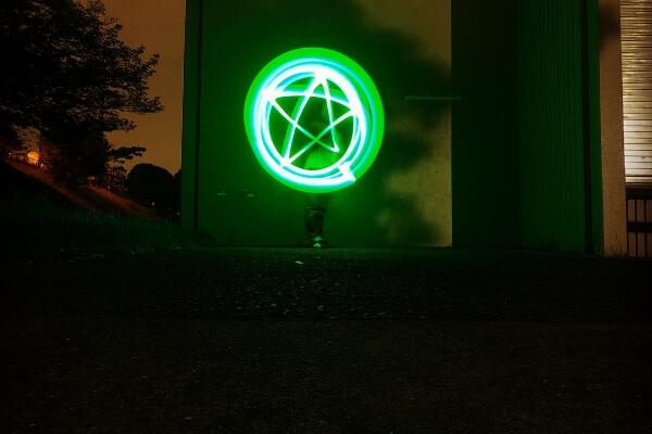 GoProでライトペインティング撮影