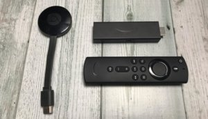 【VODの必須アイテム】ChromecastとFireTV Stickの違いを徹底比較【テレビで視聴】