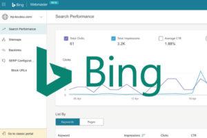 検索エンジン「Bing」のウェブマスターツールの登録手順と使い方【インデックス登録】