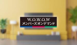 WOWOWメンバーズオンデマンドをテレビで視聴する方法【セットトップボックス(STB)】