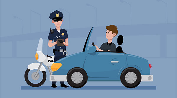 Uberバイク配達員が知っておきたい違反者講習や交通違反と反則金【点数計算の方法など】